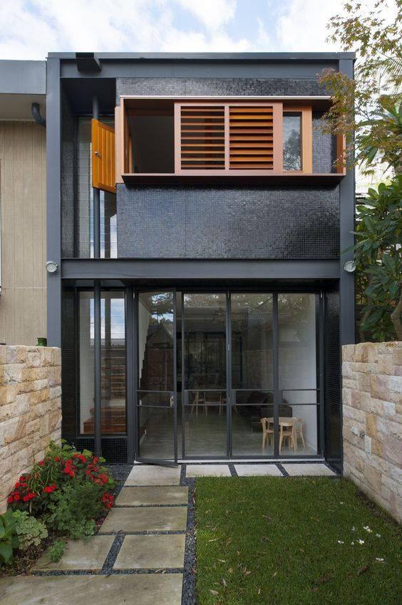 """""""Lượm nhặt"""" những ý tưởng thiết kế nhà phố 2 tầng tinh túy nhất 24"""