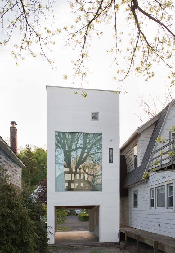 """""""Lượm nhặt"""" những ý tưởng thiết kế nhà phố 2 tầng tinh túy nhất 27"""