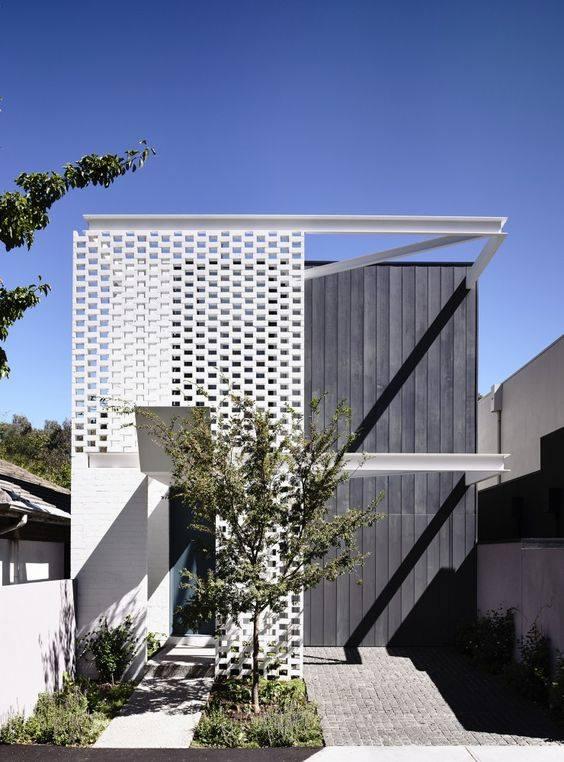 """""""Lượm nhặt"""" những ý tưởng thiết kế nhà phố 2 tầng tinh túy nhất 29"""