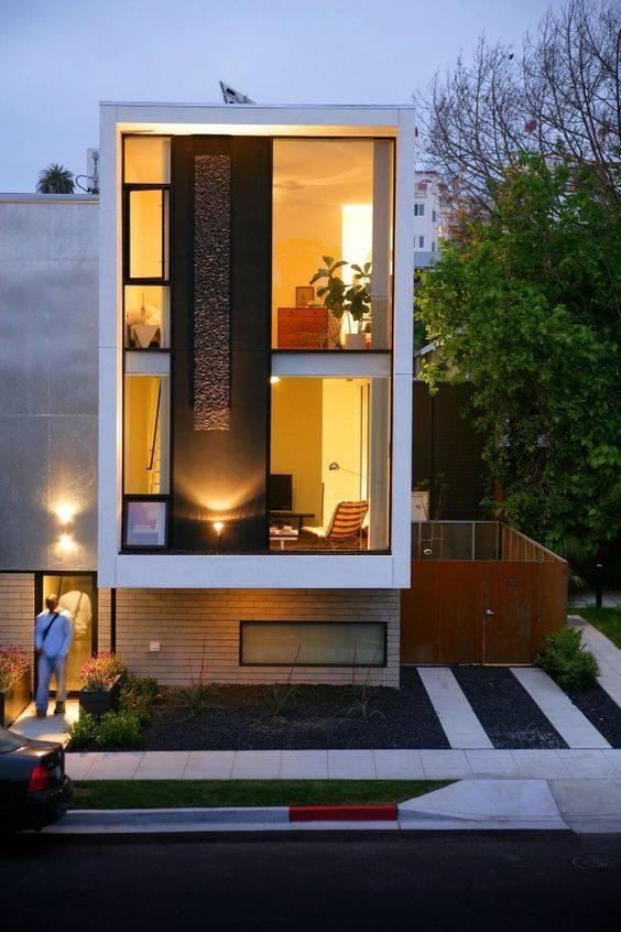 """""""Lượm nhặt"""" những ý tưởng thiết kế nhà phố 2 tầng tinh túy nhất 33"""