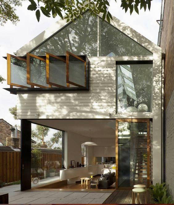 """""""Lượm nhặt"""" những ý tưởng thiết kế nhà phố 2 tầng tinh túy nhất 34"""