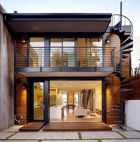"""""""Lượm nhặt"""" những ý tưởng thiết kế nhà phố 2 tầng tinh túy nhất 40"""