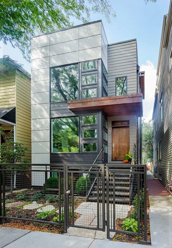 """""""Lượm nhặt"""" những ý tưởng thiết kế nhà phố 2 tầng tinh túy nhất 49"""