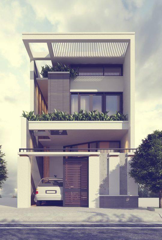 """""""Lượm nhặt"""" những ý tưởng thiết kế nhà phố 2 tầng tinh túy nhất 53"""