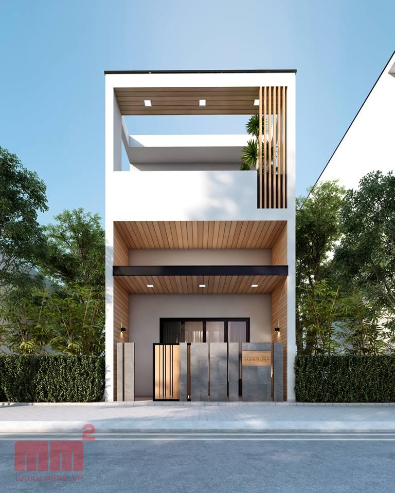 """""""Lượm nhặt"""" những ý tưởng thiết kế nhà phố 2 tầng tinh túy nhất 60"""