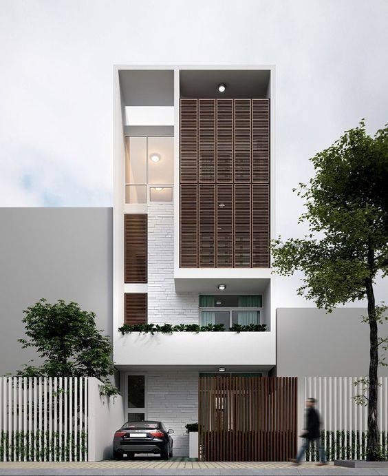 34 Mẫu thiết kế nhà phố 4 tầng đẹp hiện đại và đơn giản 4