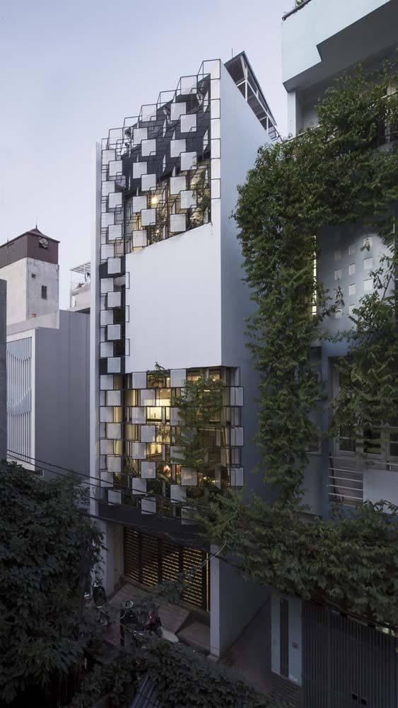 34 Mẫu thiết kế nhà phố 4 tầng đẹp hiện đại và đơn giản 19