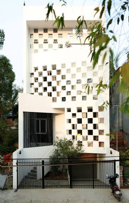 34 Mẫu thiết kế nhà phố 4 tầng đẹp hiện đại và đơn giản 22
