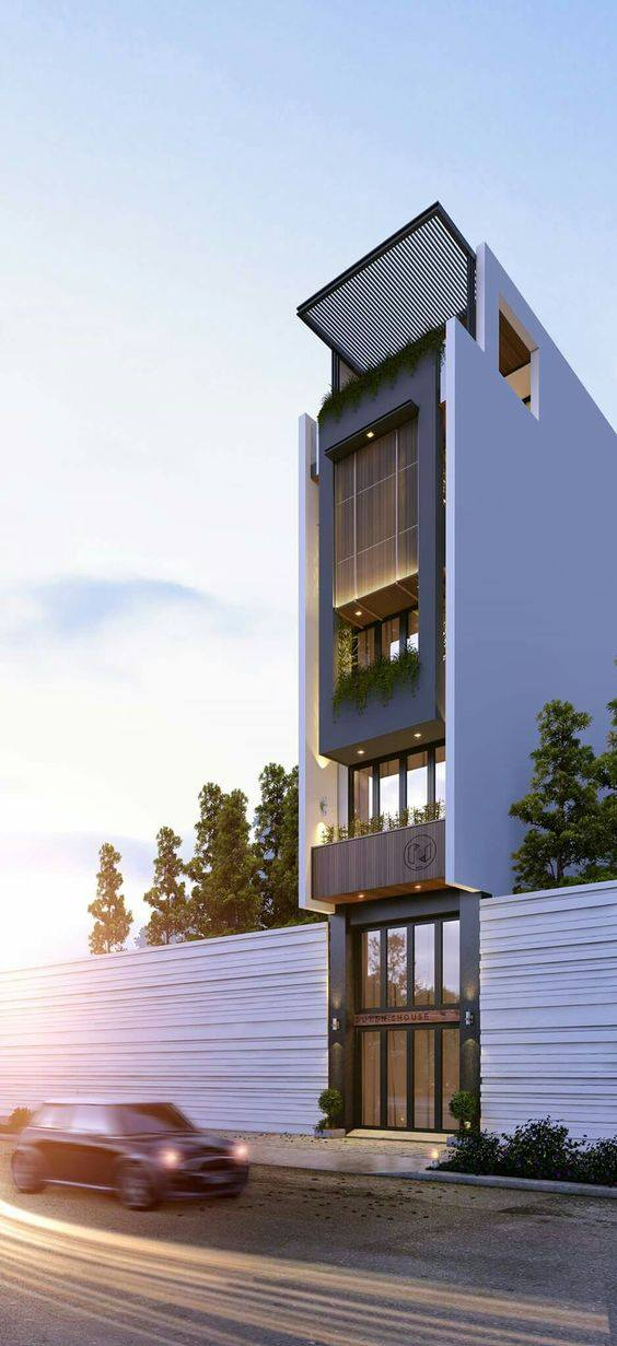 Tuyển tập nhà phố, nhà ống 5 tầng đẹp, hiện đại nhất 5