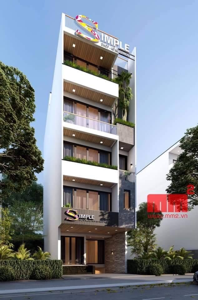 Tuyển tập nhà phố, nhà ống 5 tầng đẹp, hiện đại nhất 6