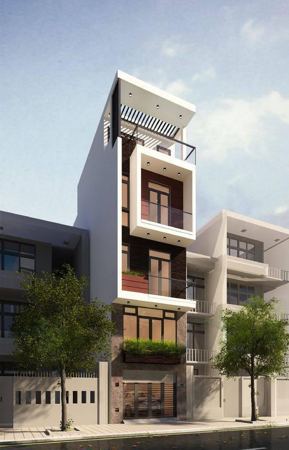 Tuyển tập nhà phố, nhà ống 5 tầng đẹp, hiện đại nhất 4