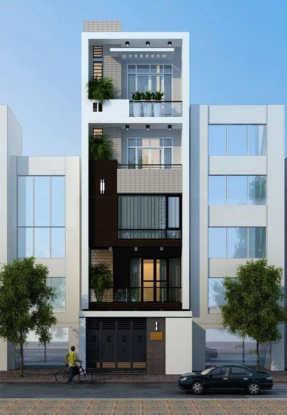 Tuyển tập nhà phố, nhà ống 5 tầng đẹp, hiện đại nhất 2