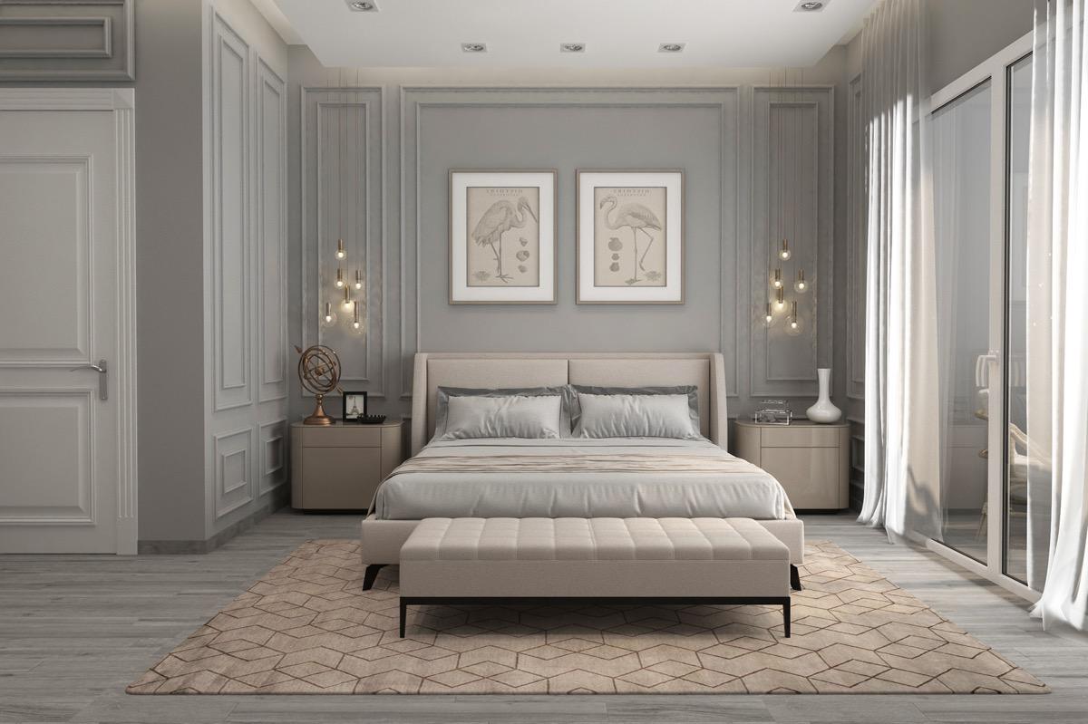 Khám phá mẫu phòng ngủ tân cổ điển hút hồn bạn ngay lập tức 3