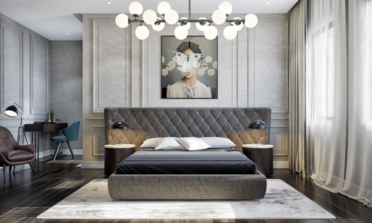 Khám phá mẫu phòng ngủ tân cổ điển hút hồn bạn ngay lập tức 4