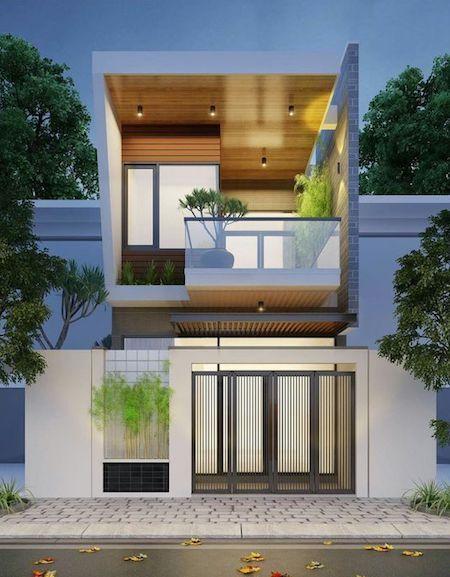 """""""Lượm nhặt"""" những ý tưởng thiết kế nhà phố 2 tầng tinh túy nhất 3"""